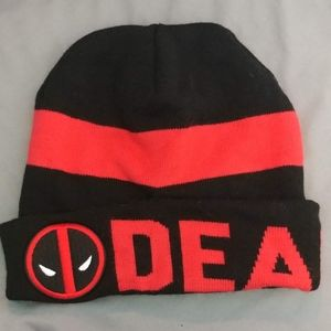 Official Marvel Deadpool Winter Beanie